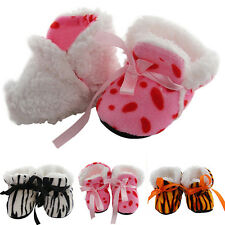 0-12 Months Baby Girl Newborn Winter Warm Boots Toddler Infant Soft Sole Shoes