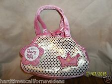 AuroraFancy Pals Pet Carrier Pink Princess Crown With Tag