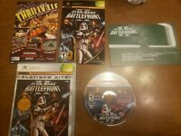 Rare Platinum Complete Star Wars: Battlefront II (Microsoft Xbox, 2005) 360 One