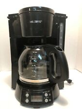Mr. Coffee 12-Cup Programmable Coffee Maker, Black Bvmc-Evx23 Tested
