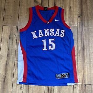 KANSAS JAYHAWKS #15 NIKE ELITE Blue NCAA Basketball Jersey Small, Jo Jo White