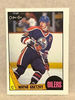 1987-88 O-Pee-Chee Wayne Gretzky Edmonton Oilers #53 HOF