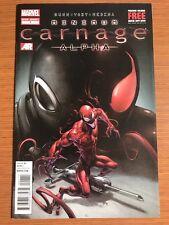 Minimum Carnage: Alpha #1 ( 1st PRINT SCARLET SPIDER-MAN VENOM Marvel VF/NM
