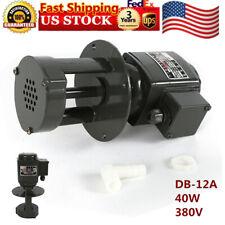 3 phase, 130mm Db-12 Coolant Pump for Lathe Grinder & Mill,12 L/min,2860 r/min,