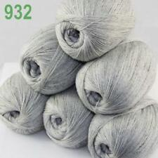 AIP 6 Balls x50gr LACE Soft Acrylic Wool Cashmere Hand Knit Crochet Wrap Yarn 32