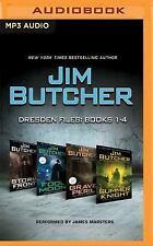 The Dresden Files: Jim Butcher - Dresden Files: Books 1-4 : Storm Front, Fool...