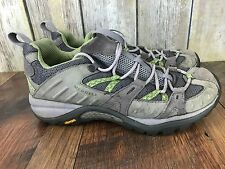 Womens Merrell Siren Sport Vibram Tan Green Gray Hiking Outdoor Sneakers sz 7