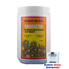 MONSTA BLOOM 1KG ORGANIC HYDROPONIC NUTRIENTS OZI MAGIC FLOWER BLOOM NUTRIENT