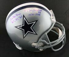 Doug Cosbie SIGNED Dallas Cowboys F/S Helmet + 3 x Pro Bowl PSA/DNA AUTOGRAPHED