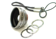 0.45x Wide Angle Fisheye Lens for Canon Ixus II, IIS,30,40,50,300,320,330,400,43