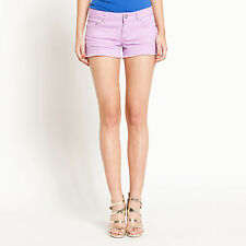 Dotti New Womens Denim Shorts Size 12,14 RRP$39.95, Pink,Blue, Green,Red,Coral