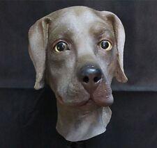 Latex marrone Cane Labrador maschera animale di qualità