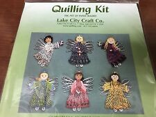Quilling Kit Christmas Angels Kit 228 The Art of Paper Filigree Lake City Craft