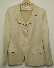 Hüftlange einreihige Damen-Anzüge & -Kombinationen aus Leinen für