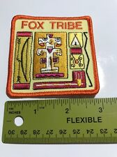 Fox Tribe Boy Scout Scouting Patch (patch10023)