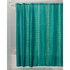"Moxi Fabric Shower Curtain 72"" x 72"" Aquamarine Blue/Green"