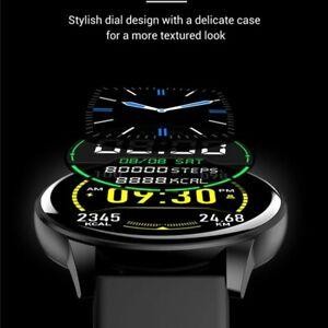 Montre connectée bluetooth smartwatch Bluetooth bracelet silicone étanche