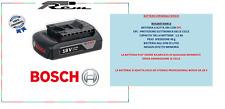 BATTERIA ORIGINALE BOSCH PROFESSIONAL 18V 1,5Ah 2607366803