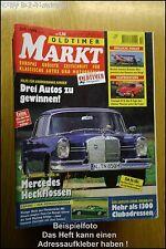 Oldtimer Markt 10/99 DB Heckflosse Triumph  6 Camaro
