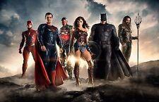 Justice League poster - 11 x 17 inches - Wonder Woman, Batman, Superman, Aquaman