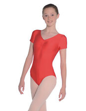 Ladies Roch Valley Sheree Sleeveless Ruched Front Ballet Dance Leotard UK 14 (5) Vert Green