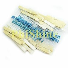 27 Values 1/4W Color Ring Resistance 100 ohm~2K Resistors Each 10 Total 270