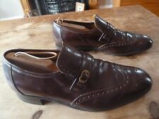 mens CHEANEY bingley loafers - size 9 G great condition