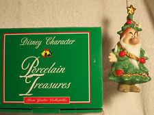 Grolier Christmas Ornament GRUMPY #111 Porcelain Treasures Collection MIB Disney