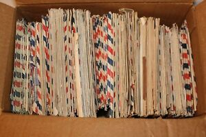 10 WWII Letters Lot VTG Military Army Soldier APO Covers Korean War Vietnam WW2