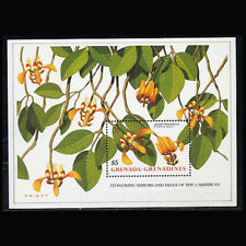 Grenada Gr., Sc #1017, MNH, 1988, S/S, Flowers, Flora, Plants, FL362F