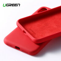 Ugreen Liquid Silicone Gel Rubber Protective Case Cover Fr Apple iPhone X Xs Max