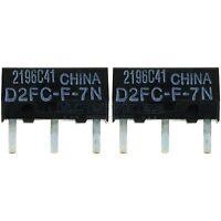 2x OMRON D2FC-F-7N Mikroschalter Microswitch Maustaster Maustaste Ersatztaster