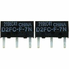 2x OMRON d2fc-f-7n Micro-interrupteur microswitch maustaster bouton de remplacement palpeur
