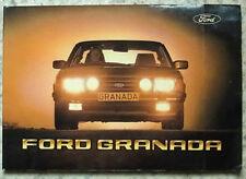 FORD GRANADA Car Owners Handbook August 1981 #CG35EN/RHD/132839