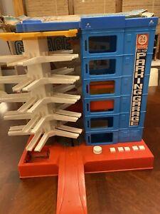 Vintage Sears Big Toy Box Full Auto Parking Garage w/ Original Box Bandai Japan