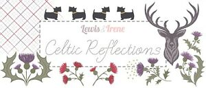 Celtic Reflections by Lewis and Irene - Celtic Inspired Metallic Fabrics