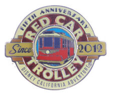 2017 Disney Red Car Trolley 5th Anniversary LE-500 Pin
