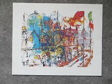 "Leroy Neiman print St. Mark's Venice 16"" X 20"" unframed unused"