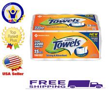 Member's Mark Super Premium Paper Towels 15 Rolls 150 Sheets Per Roll Strong