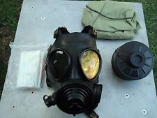 Evolution 5000 NBC Gas Mask w/Multigas Filter & Hood Size: SMALL w/drink option