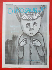 DINOSAUR JR WITHOUT A SOUND LP POSTER ADVERT CUTTING 1994 MELODY MAKER A3