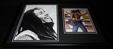 Bob Marley Framed 12x18 Rolling Stone Cover Display