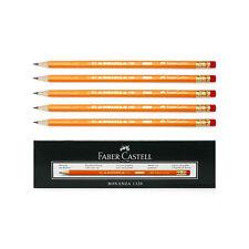 12pcs 1dozen Faber-Castell Bonanza 1320 Graphite Pencil B With Rubber Tip Noo