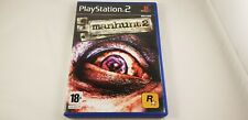 * PS2 * Manhunt 2 * RARE * PAL UK version * PlayStation 2 *