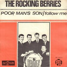 "ROCKIN' BERRIES, THE ‎– Poor Man's Son (1965 VINYL SINGLE 7"" HOLLAND)"