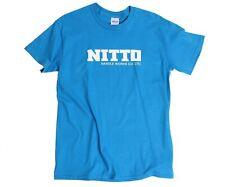 NITTO Handle Works Cycling T-Shirt Cyan/Blue Small, Medium, Large