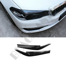 Carbon Fiber Light  Eyebrows Refit For BMW 5 Series G30/38 2017+