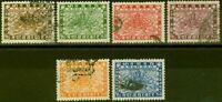 Nepal 1935 set of 6 SG51-56 Fine Used