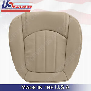 2008 2009 2010 2011 2012 Buick Enclave Passenger Bottom Leather Seat Cover Tan