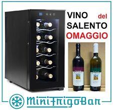 Cantinetta Frigo per i Vini con Porta mini Cantina le 10 Bottiglie di Vino x Bar
